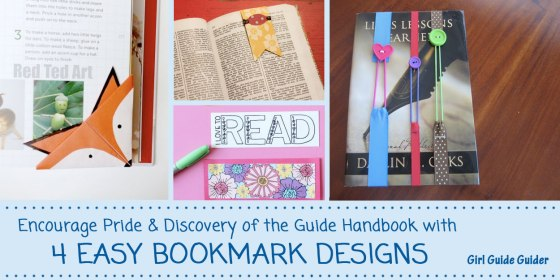 4 Easy Bookmark Designs
