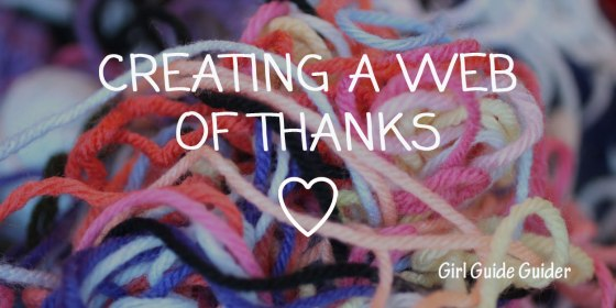 Creating a Web of Thanks