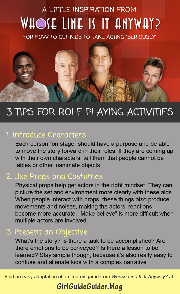 3 Tips for Role Playing Activities