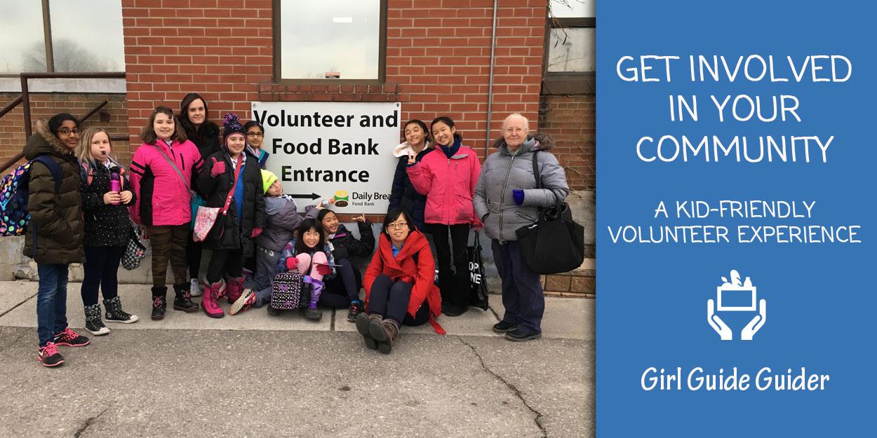 Volunteer at the Food bank